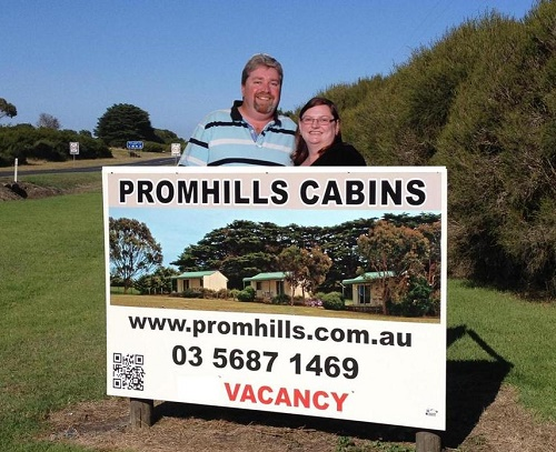 Owners of Promhills Cabins
